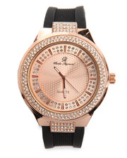 Jewelry & Watches - Round Bling Watch-2198371
