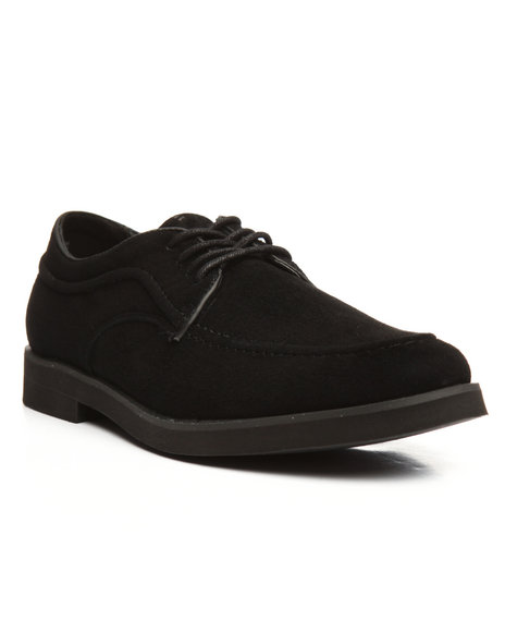 Hush Puppies - Suede Bracco MT Oxford Shoes