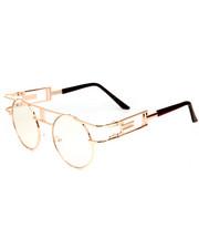 DRJ Sunglasses Shoppe - Steam Punk Round Sunglasses-2192311