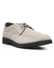 Hush Puppies - Suede Cool Grey Bracco MT Oxford-2199430