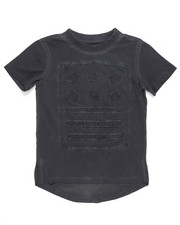 Akademiks - S/S Oil Wash Elongated Tee (4-7)-2200165