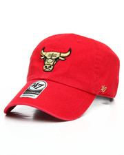 '47 - Chicago Bulls Metallic Clean Up Strapback Hat-2199450
