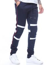 Sweatpants - Panel detail double knit jogger-2200411