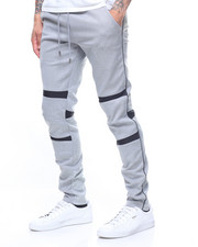 Buyers Picks - Panel detail double knit jogger-2200405