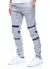 Sweatpants - Panel detail double knit jogger-2200405