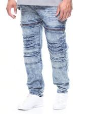 Jeans - Zipper & Ripped  Jean (B&T)