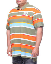 Parish - S/S Striped Polo (B&T)