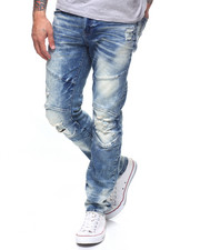 Jeans - DISTRESSED ARTICULATED JEAN