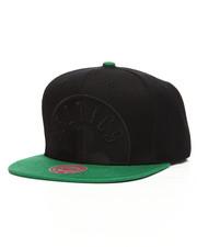 Mitchell & Ness - Boston Celtics Cropped Satin Snapback Hat-2199441