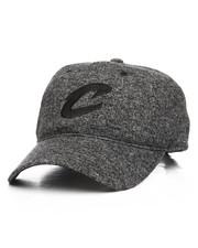 NBA, MLB, NFL Gear - Cleveland Cavaliers Brushed Jersey Strapback Hat-2199496