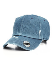 Accessories - Vintage Distressed Cotton Adjustable Baseball Cap-2199468