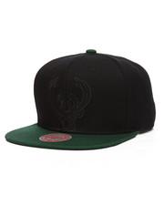 Mitchell & Ness - Milwaukee Bucks Cropped Satin Snapback Hat-2199443