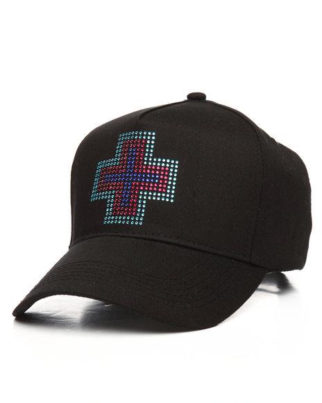 Pink Dolphin - Rhinestone Plus Strapback Hat