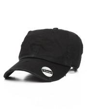 Hats - Vintage Distressed Cotton Adjustable Baseball Cap-2199469