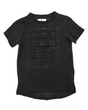 Akademiks - Oil Wash Elongated Tee (2T-4T)-2200119