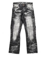 Akademiks - Knee Patch Side Pock Denim Jean (8-20)-2199139