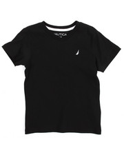 Tops - Solid V-Neck Tee (4-7)