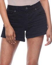 Shorts - Roll Cuff Denim Short-2199980