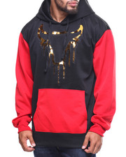 Hoodies - L/S Dripping Bull Hoddie (B&T)