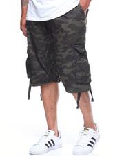 Shorts - Camo Jogger Shorts Cargo (B&T)-2201072