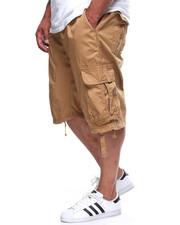 Shorts - Fine Twill Jogger Shorts Cargo (B&T)
