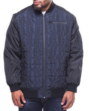 Light Jackets - Honey Comb Quilted 2 Tone Iridescent Jacket (B&T)-2201023
