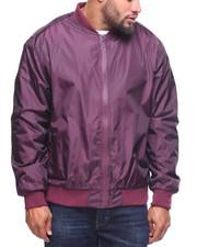 Light Jackets - Printed Nylon Jersey Lined Jacket (B&T)-2201015