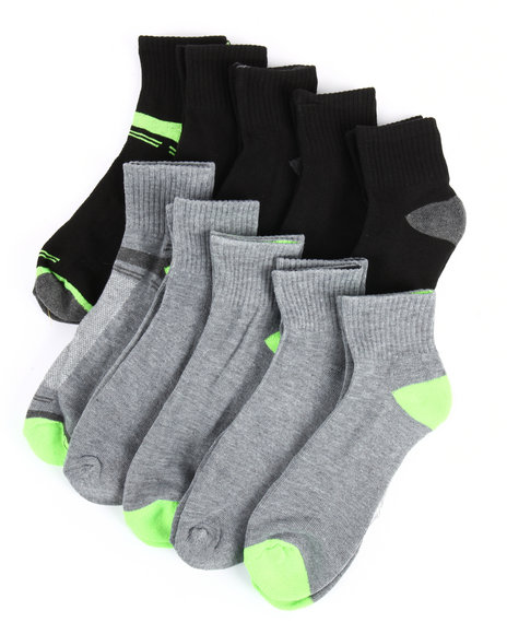 Buyers Picks - 10 Pack Cushioned Quarter Socks