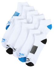 Socks - 10 Pack Cushioned Low Cut Socks-2200130