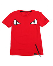 Flysociety - Two Tone Flip Sequins Fashion Tee (8-20)-2201193