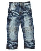 Knee Patch Side Pock Denim Jean (2T-4T)