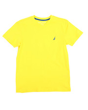 Tops - Solid V-Neck Tee (8-20)