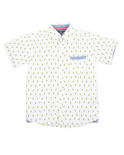 Tops - Pineapple All-Over Print Woven (8-20)