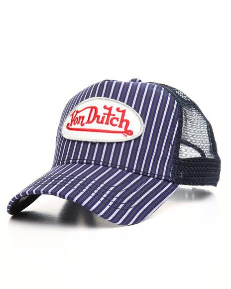 Von Dutch - Stripes Trucker Hat