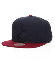 Mitchell & Ness - Cleveland Cavaliers Cropped Satin Snapback Hat-2201231