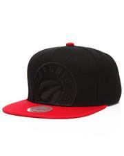 Mitchell & Ness - Toronto Raptors Cropped Satin Snapback Hat-2201233