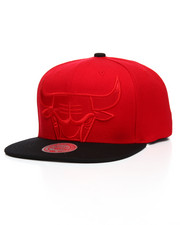 Mitchell & Ness - Chicago Bulls Cropped Satin Snapback Hat-2201235