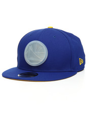 New Era - 9Fifty Golden State Warriors Badge Brilliant Snapback Cap-2201227