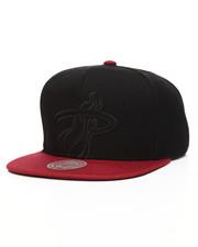 Mitchell & Ness - Miami Heat Cropped Satin Snapback Hat-2201234