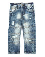 Akademiks - Acid Wash Denim Jeans (2T-4T)-2201846