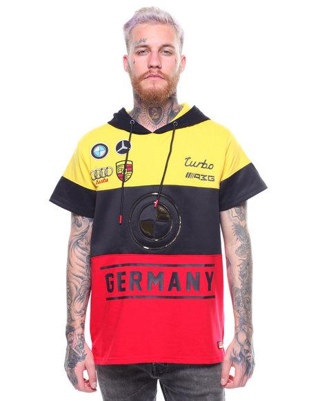 Germany S/S Foil Hoody by Buyers Picks