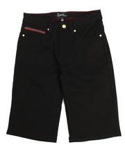 Flysociety - Twill Denim Shorts (8-20)-2201808