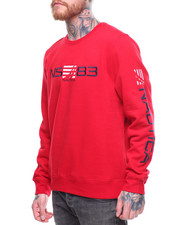 Sweatshirts & Sweaters - NS83 Embroidered Crewneck Sweatshirt-2202089