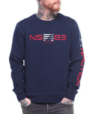 Sweatshirts & Sweaters - NS83 Embroidered Crewneck Sweatshirt-2202071