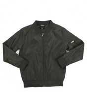 Light Jackets - Unlined Bomber Jacket (8-20)