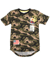 Tops - Patch Crew Camo Tee (8-20)-2201822