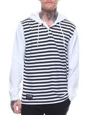 LRG - L/S Line Up Hooded Henley