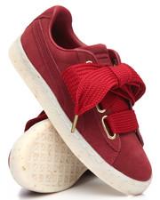 Women - Suede Heart Celebrate Sneakers-2201642
