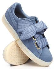 Footwear - Suede Heart Celebrate Sneakers