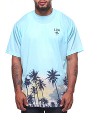 LRG - S/S Palm Tree Knit Tee (B&T)